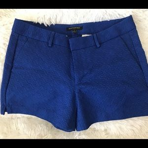Banana Republic Blue Textured Shorts